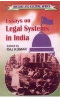 Essays on Legal Systems in India (History: Raj Kumar (Ed.)