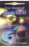 9788171418299: Text Book of Analysis-II