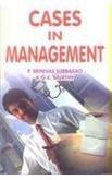 Cases in Management: P. Srinivas Subba