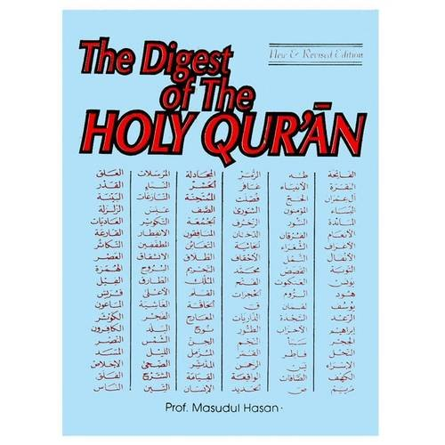 The Digest of the Holy Qur'an (Paperback): Masudul Hasan