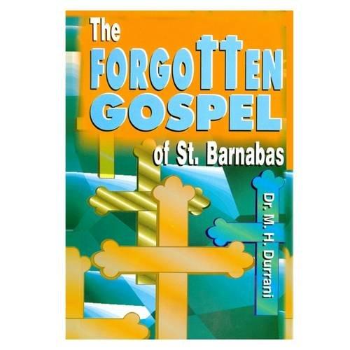 9788171512492: The Forgotten Gospel of St. Barnabas