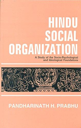 Hindu Social Organisation: P.H. Prabhu