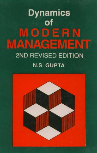 Dynamics Of Modern Management