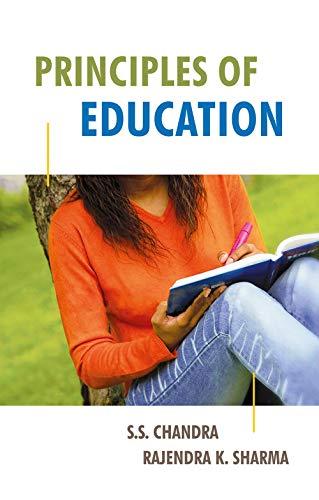 Principles of Education: S.S. Chandra