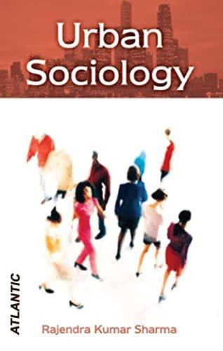 Urban Sociology: Rajendra K. Sharma