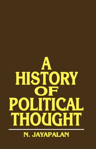 A History of Political Thought: N. Jayapalan