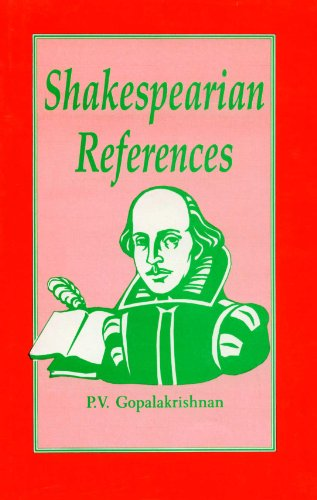 Shakespearian References: P. V. Gopalakrishnan