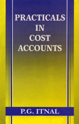 Practicals In Cost Accounts