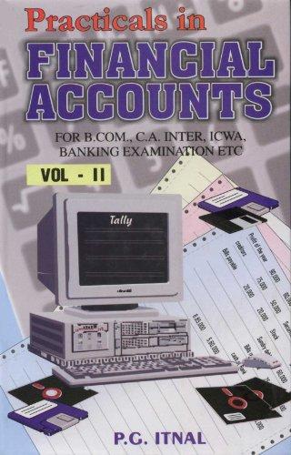 Practicals in Financial Accounts, Vol. II: P.G. Itnal