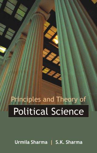 Principles and Theory of Political Science, 2 Vols. Set: Urmila Sharma