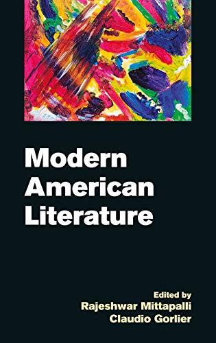 9788171569786: Modern American Literature