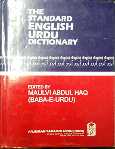 9788171600946: The Standard English/Urdu Dictionary