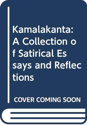 Kamalakanta ( A Collection of Satirical Essays & Reflections) (8171670822) by Chatterji, Bankim Chandra