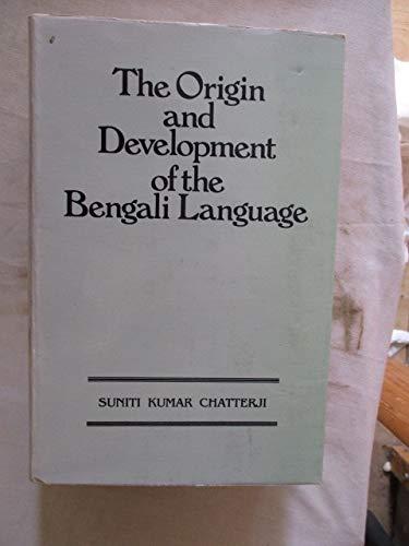 9788171671175: Origin and Development of the Bengali Language
