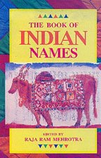 9788171671496: Book of Indian Names