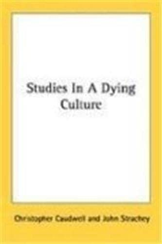 9788171690992: Studies in a Dying Culture