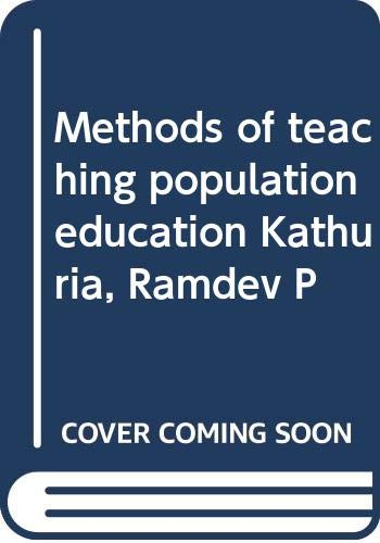 9788171691050: Methods of teaching population education