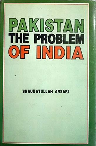 9788171694266: Pakistan ; The Problem of India