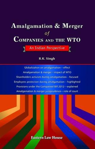 9788171772643: Amalgamation & Merger of Companies and the WTO: An Indian Perspective