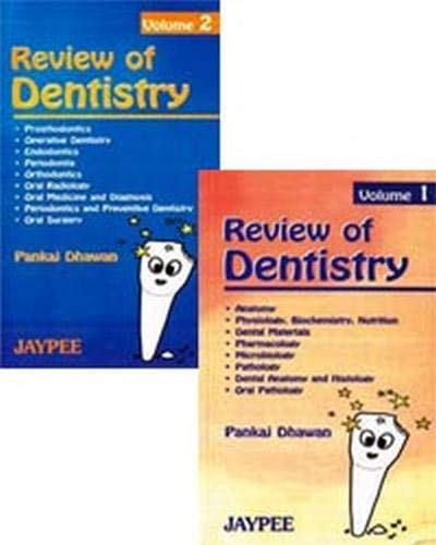 9788171799787: Review of Dentistry (2 Vols.)