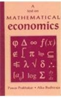 9788171881017: A Text on Mathematical Economics