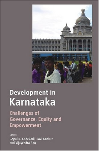 9788171886197: Developments in Karnataka: Challenges of Governance, Equity and Empowerment