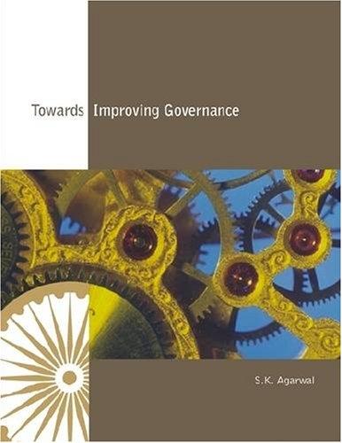 9788171886661: Towards Improving Governance