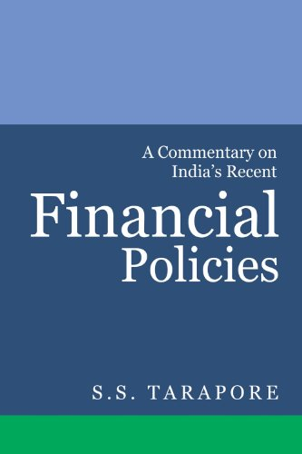 9788171889662: A Commentary on India's Financial Policies