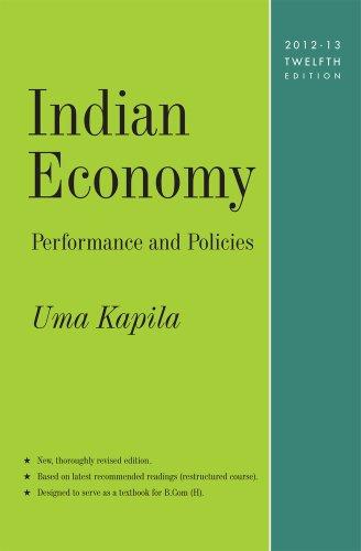 Indian Economy: Performance and Policies: Kapila, Uma
