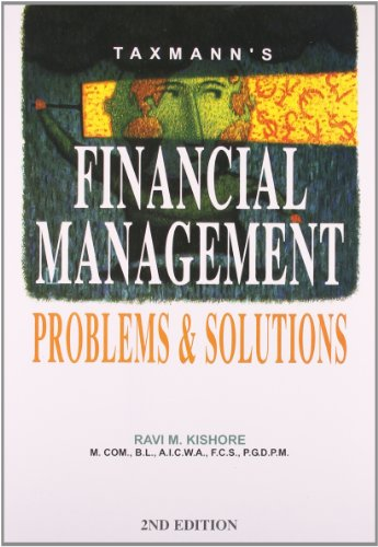 9788171946495: Financial Management - Problems & Solutions