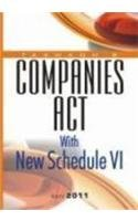 Companies Act with New Schedule VI