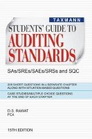 Students Guide to Auditing Standards: D.S. Rawat