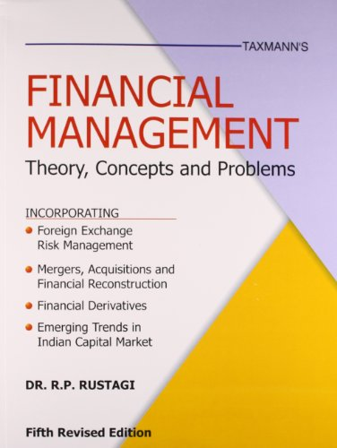 9788171949311: Financial Management - Theory, Concepts And Problems