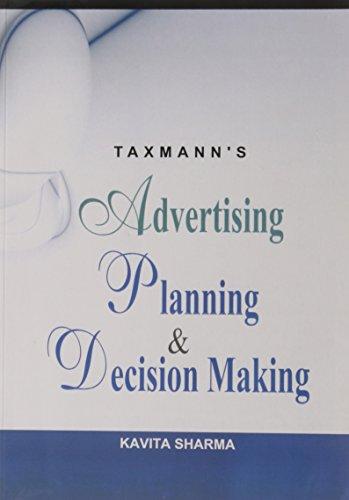 Advertising Planning & Decision Making: Kavita Sharma