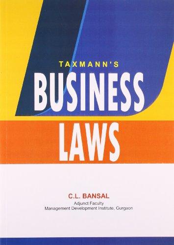 Business Laws: C.L. Bansal