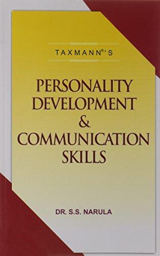 Personality Development and Communication Skills: S.S. Narula