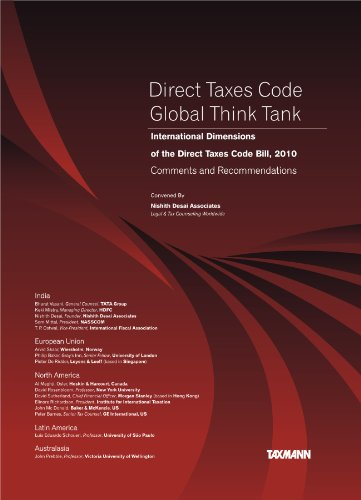 Direct Taxes Code - Global Think Tank: Nishith Desai Associates