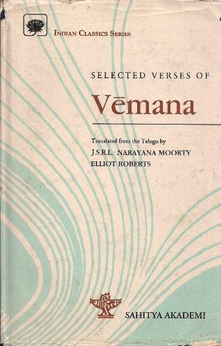 Selected Verses of Vemana: Akademi, Sahitya