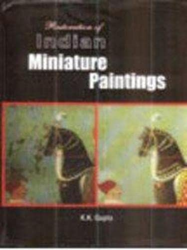 9788172111854: Restoratrion of Indian Miniature Paintings