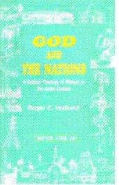 9788172143961: God and the Nations ; A Biblical Theology of Mission in the Asian Context