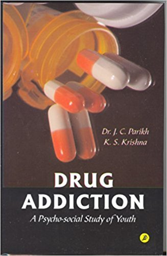 9788172160067: Drug addiction, a psycho-social study of youth