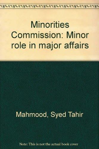 Minorities Commission: Mahmood Syed Tahir
