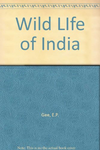 9788172230166: Wild LIfe of India