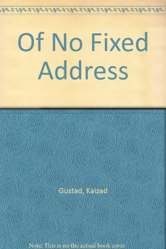 9788172233464: Of No Fixed Address