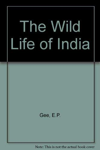 9788172234065: The Wild Life of India