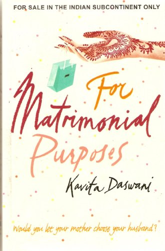 9788172235536: For Matrimonial Purposes: A Novel.