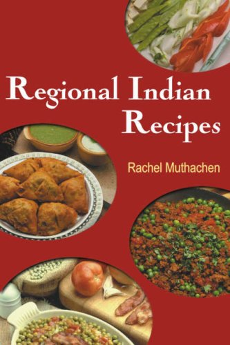 9788172240356: Regional Indian Recipes