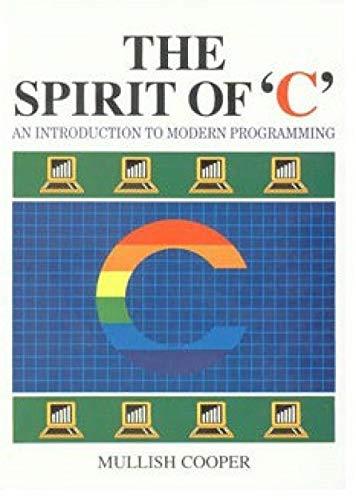 The Spirit of C: Mullish, Henry, Cooper,
