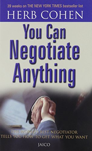 9788172240615: You Can Negotiate Anything