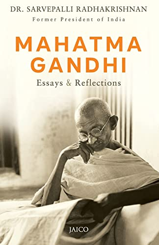 mahatma gandhi essays reflections s  9788172241223 mahatma gandhi essays reflections